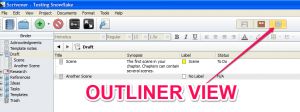 outliner view